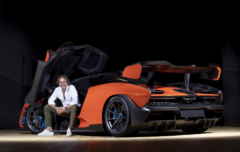 eduardo 1 Inauguración McLaren Barcelona