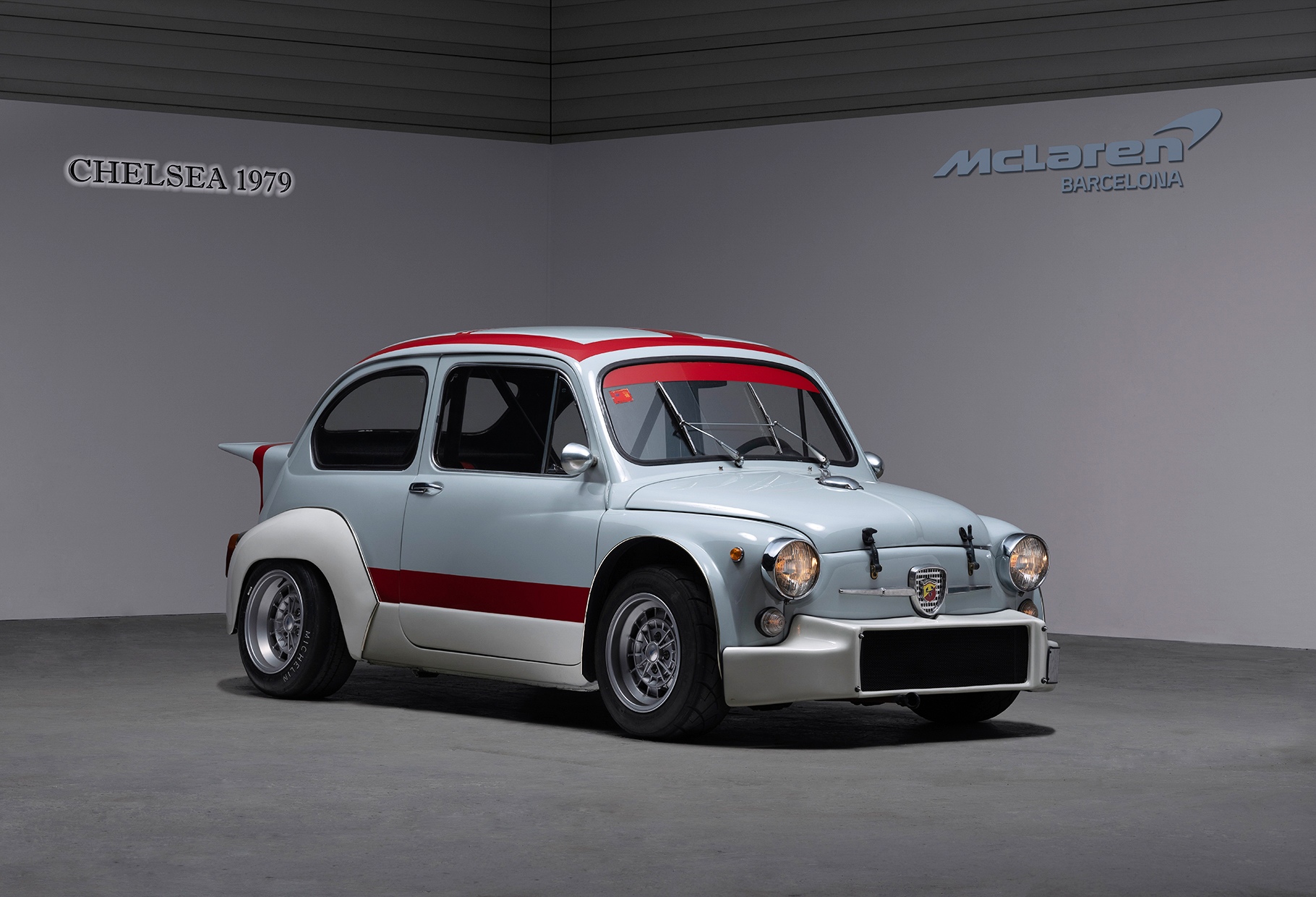 01 FIAT 600 FRONTAL 3 4 Abarth TCR1000