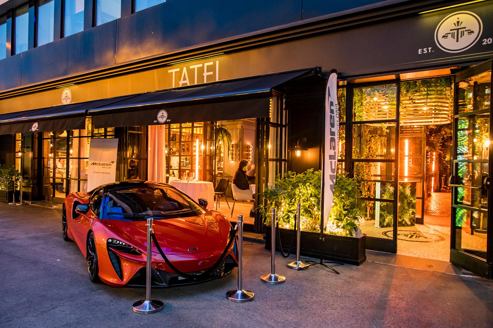 126 EventoMcLarenArturaMadrid Presentation McLaren Artura in Madrid