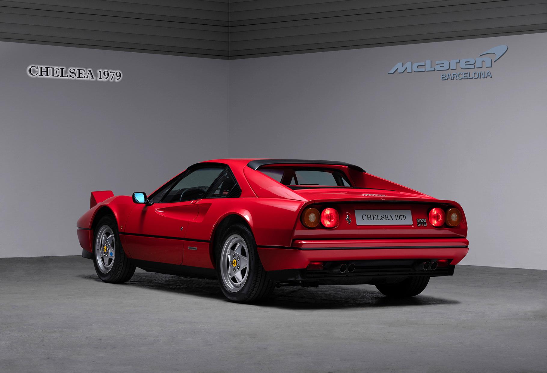 06 FERRARI GTB312 TRASERA 1 4 Ferrari GTB 312